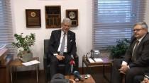DIŞİŞLERİ KOMİSYONU - TBMM Dışişleri Komisyonu Başkanı Bozkır, Rusya Büyükelçisi Yerhov İle Görüştü