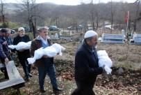 KÖY MEZARLIĞI - Yangında Ölen 3 Çocuk Toprağa Verildi