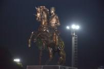 ATATÜRK MEYDANI - Atatürk Parkı'na 4,5 Metrelik Atatürk Heykeli İle '3 Ocak Atatürk Meydanı' Yapılıyor