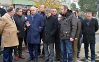 TURGAY ŞIRIN - Başkan Ergün O Caddede İncelemelerde Bulundu