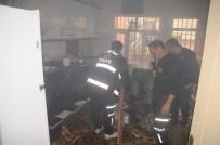 Cizre'de Yangın Açıklaması 1 Yaralı