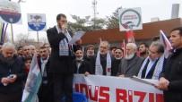 DOĞU TÜRKISTAN - Erciş'te 'Kudüs' Yürüyüşü