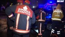 VATAN CADDESİ - Fatih'te Zincirleme Trafik Kazası Açıklaması 6 Yaralı