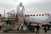 GAZİ MAHALLESİ - Hakkari'de Cumhurbaşkanı Erdoğan İçin Hazırlık