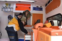 MUŞLU - Hayırsever Aileden Ambulans Bağışı