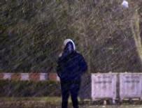AFET KOORDINASYON MERKEZI - İstanbullular dikkat! Kar kapıda...