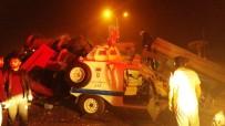 YUSUF YıLDıZ - Kontrolden Çıkan Tır Nöbet Tutan Polislerin Arasına Daldı
