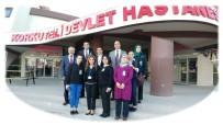 AKREDITASYON - Korkuteli Devlet Hastanesinde Kalite Değerlendirmesi Yapıldı