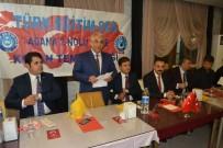 MUSTAFA KARA - Kozan'da Türk Eğitim Sen'den Birlik Ve Beraberlik Yemeği