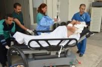 IŞIK İHLALİ - Milas'ta Tırın Çarptığı Sürücü Ağır Yaralandı