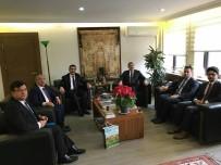 HÜSEYİN YAYMAN - Niğde Belediye Başkanı Özkan'dan Ankara Temasları