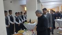 GERMIYANOĞULLARı - Öğrencilerin Yemekleri Protokolden Tam Not Aldı