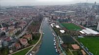YIKIM ÇALIŞMALARI - (Özel)Kurbağalıdere Köprüsü'nın Yıkımı Havadan Görüntülendi