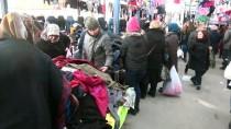 HEDİYELİK EŞYA - Yunan Turistler Noel Alışverişini Edirne'de Yapıyor
