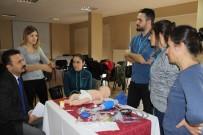 MUSTAFA KARADENİZ - Zonguldak'ta Yeni Doğan Canlandırmaya Katılanlara Sertifikaları Verildi