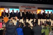 KÜLTÜR SANAT MERKEZİ - AK Parti Yakutiye, Palandöken İlçesi 4. Olağan Kongresi'nde Başkanlar Güven Tazeledi