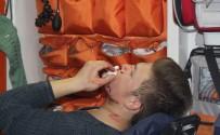 GÜRAĞAÇ - Alkollü Şahıslar Yüzünden Bıçakladı