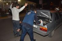 POLİS KÖPEĞİ - Antalya'da 1600 Polisle  Güven -Huzur Uygulaması