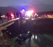 SU KANALI - Araç Kanala Uçtu Açıklaması 1 Ölü, 5 Yaralı