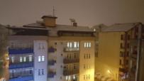 Isparta'da Kar Yağışı