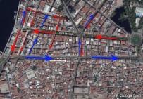 ŞAIR EŞREF - Konak-Alsancak Arasında Yeni Trafik Düzenlemesi