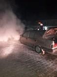 YAKıNCA - Malatya'da Araç Yangını