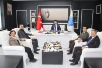 MUSTAFA DOĞAN - Rektör Karacoşkun'dan Yardımlaşma Derneği Üyelerine Ziyaret