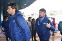 UĞUR DEMİROK - Trabzonspor Meşalelerle Uğurlandı