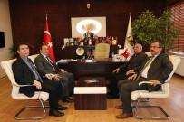 Ünlüer, Uçhisar Belediye Başkanı Karaaslan'a Geçmiş Olsun Ziyaretinde Bulundu