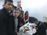 ATATÜRK LİSESİ - Yazar Hakan Pütün'den Liseli Gençlere Şiir Dinletisi