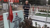 ÇUKURKUYU - Başkan Toprak Ömer Halisdemir'i Kabri Başında Andı