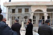 Başkan Yazıcı, Taziye Evi İnşaatını Gezdi