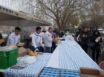 HAMSİ FESTİVALİ - Başkentliler Karda Hamsi Festivali Yaptı