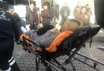 TARLABAŞı - Beyoğlu'nda 'Yorgun Mermi' Mısırlı Kadını Yaraladı