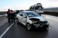 ZİNCİRLEME KAZA - Bursa'da Zincirleme Facia Açıklaması 2 Ölü, 8 Yaralı
