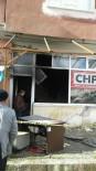 CHP İlçe Başkanlığında Patlayan Isıtıcı Yangına Neden Oldu