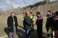 ESKIGEDIZ - Eskigediz Gazispor, Uluoymak 1 Eylülspor İle 2-2 Berabere Kaldı