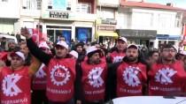 YAŞAM ŞARTLARI - Fabrika İşçilerinden Yürüyüş