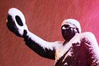 Isparta'da Kar Yağışıyla Birlikte Kartpostallık Görüntüler