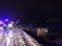 Isparta'da Yolcu Otobüsü Şarampole Yuvarlandı Açıklaması 9 Yaralı
