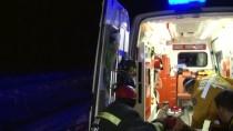Konya'da Yolcu Otobüsü Devrildi Açıklaması 32 Yaralı