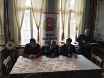 TÜRKIYE GAZETECILER FEDERASYONU - Trakya Gazeteciler Derneği, 12. Genel Kurulu Yapıldı