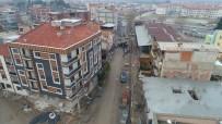 Turgutlu'da Piyaleoğlu Caddesi'nde Değişim Sürüyor