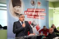 KARTAL BELEDİYESİ - 8. Atatürk'ü Anma Briç Turnuvası Kartal'da Gerçekleştirildi