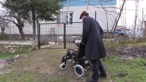 TÜRKIYE SAKATLAR DERNEĞI - Azeri Gelinin Tekerlekli Sandalye Sevinci