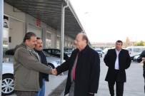 GÖZLEME - Başkan Özakcan, Galerici Esnafını Ziyaret Etti