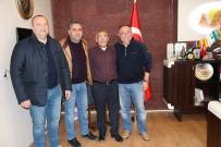 Başkan Salman Ve Başkan Kurt, Başkan Karaaslan'ı Ziyaret Etti