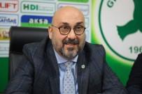 Bozbağ Açıklaması 'Giresunspor'dan Ayrılacak Oyuncular Var'