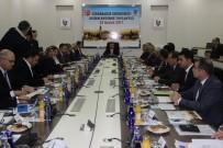 ULUSLARARASı TICARET MERKEZI - Diyarbakır Ekonomisi Değerlendirme Toplantısı Gerçekleştirildi