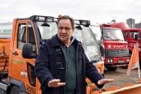 KAR KÜREME ARACI - Giresun Belediyesi'nin Karla Mücadele Hazırlıkları Devam Ediyor